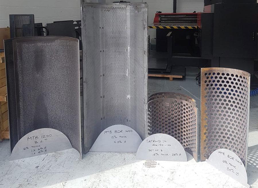 metal perforated panels
