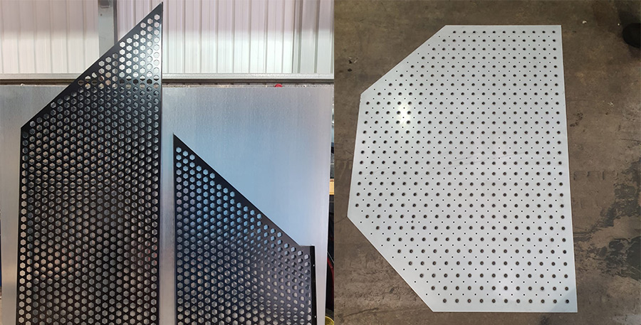 2020 example of Perforated sheet metal work