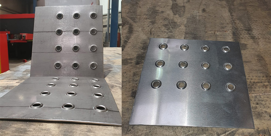 raised hole panels