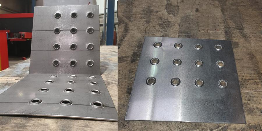 raised hole panels